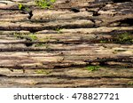 Wood Textured Background With...