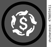 dollar care hands vector... | Shutterstock .eps vector #478855411
