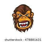 mad monkey face