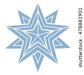 star  vector geometric...   Shutterstock .eps vector #478881901