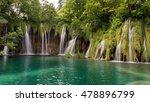 waterfalls and lakes in plitvi... | Shutterstock . vector #478896799
