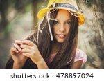 ukrainian girl   Shutterstock . vector #478897024