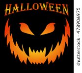 scary halloween background... | Shutterstock .eps vector #478906975