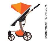 Moder Vector Baby Stroller Wit...