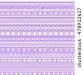 tribal seamless pattern.... | Shutterstock .eps vector #478912627