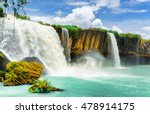 The Dray Nur Waterfall On The...