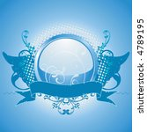 blue emblem  design element ... | Shutterstock . vector #4789195