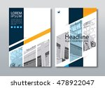 annual report brochure flyer... | Shutterstock .eps vector #478922047