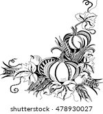 hand drawn template with... | Shutterstock .eps vector #478930027