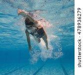 underwater shot of a front... | Shutterstock . vector #478936279