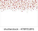 colorful background with heart... | Shutterstock .eps vector #478951891