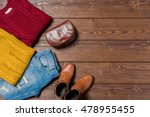 women's autumn clothes | Shutterstock . vector #478955455