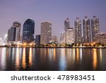 bangkok night city scape | Shutterstock . vector #478983451