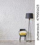 black and white interior... | Shutterstock . vector #479001625