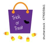 trick or treat bag | Shutterstock .eps vector #479005861