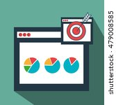 page web internet target | Shutterstock .eps vector #479008585