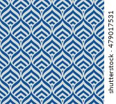 blue vector seamless pattern.... | Shutterstock .eps vector #479017531