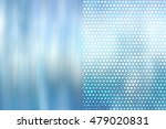 christmas blue background with... | Shutterstock . vector #479020831