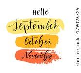 vector illustration. lettering. ...   Shutterstock .eps vector #479026729