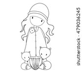 coloring book. one of a set ... | Shutterstock .eps vector #479036245