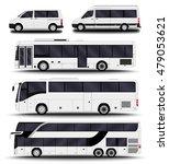 busses  vans and minivans. big... | Shutterstock .eps vector #479053621