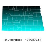 map of north dakota | Shutterstock .eps vector #479057164