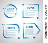modern block quote design... | Shutterstock .eps vector #479059549