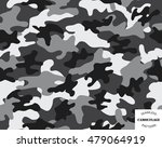 camouflage seamless pattern... | Shutterstock .eps vector #479064919