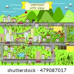 urban landscape map design for... | Shutterstock .eps vector #479087017