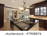 kitchen in new construction... | Shutterstock . vector #47908876