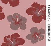 vector seamless pattern of... | Shutterstock .eps vector #479089651