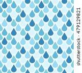 blue vector water drops... | Shutterstock .eps vector #479129821