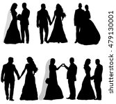 vector   isolated  silhouette   ... | Shutterstock .eps vector #479130001