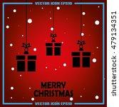 xmas gift vector illustration...   Shutterstock .eps vector #479134351