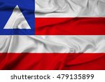 waving flag of bahia state ... | Shutterstock . vector #479135899
