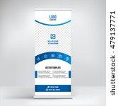 banner roll up design  business ... | Shutterstock .eps vector #479137771