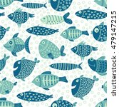 vector seamless pattern with... | Shutterstock .eps vector #479147215