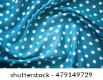 Draped With Blue Cloth With...