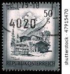 austria   circa 1975  a stamp... | Shutterstock . vector #47915470