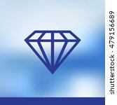 diamond icon vector. web design