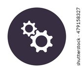 gear icon  flat design style | Shutterstock .eps vector #479158327
