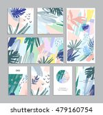 set of creative universal... | Shutterstock .eps vector #479160754