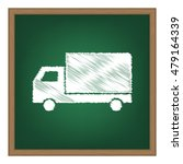 delivery sign illustration....