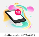 abstract vector background with ... | Shutterstock .eps vector #479167699