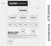 organization chart template... | Shutterstock .eps vector #479169445