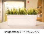 a bright white flowerpot with... | Shutterstock . vector #479170777