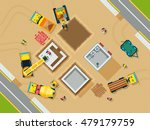 construction and building top... | Shutterstock .eps vector #479179759