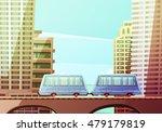 miami downtown cartoon... | Shutterstock .eps vector #479179819
