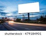 blank billboard for... | Shutterstock . vector #479184901