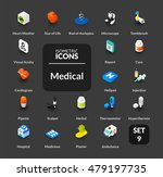 color icons set in flat... | Shutterstock .eps vector #479197735